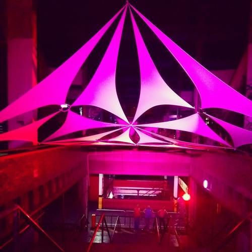 10 metros - malha lycra tensionada decoração de festas