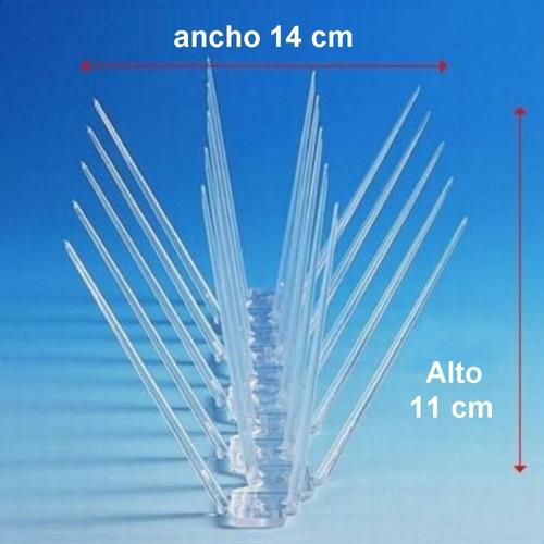 10 metros pinches puas pinchos ahuyentar anti paloma pajaro - de policarbonato resiste agua y sol