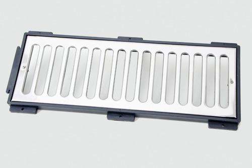10 metros ralo linear inox polido grelha 15 cm largura