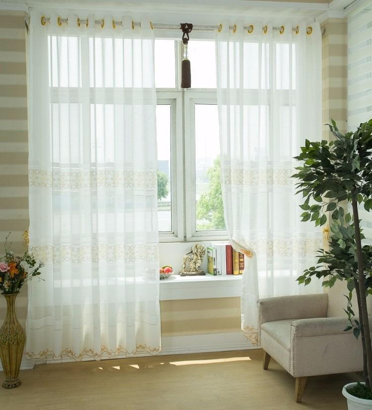 Tela voile metro liso 3 ancho colores cortinas cortinados - Cortinas para miradores ...