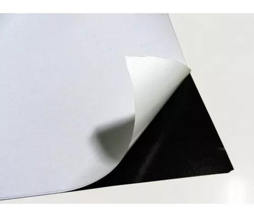 10 metrosx0,30 manta magnética adesivada ima 0,4mm lembrança