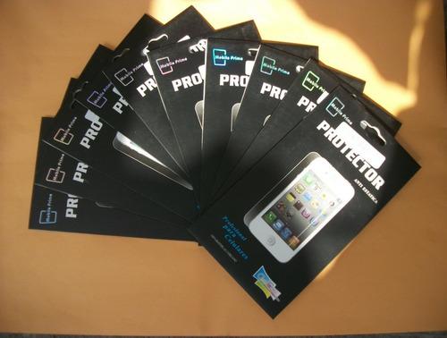 10 micas de pantalla dobles iphone 4g garantìa de por vida!!