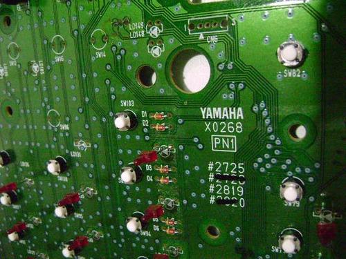 10  microchaves botões painel roland xp50 frete só r$10