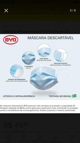 10 milhões de máscaras da azul med