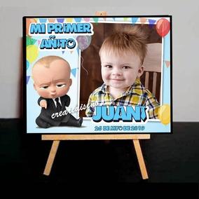 10 Mini Atril Personalizados Souvenirs Jefe En Pañales Foto