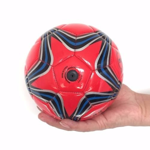 086add2600f6b 10 Mini Bola De Futebol Tamanho 2 Couro Sintético Revenda - R  173 ...