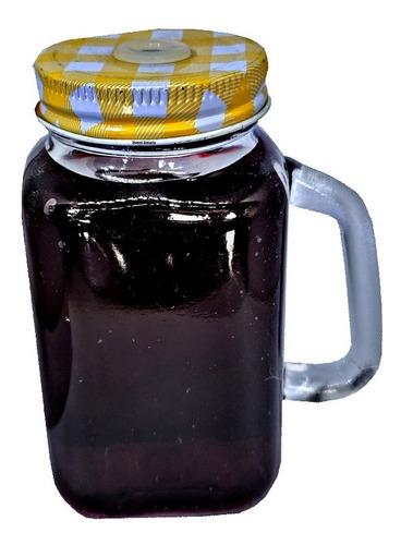 10 mini caneca vidro mason jar 200ml lembrancinha