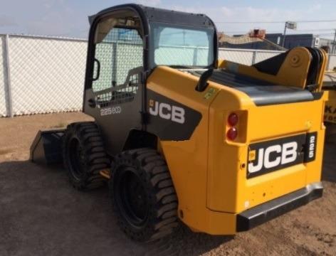 10) mini cargador jcb 225 2014 con sistema hidraulico