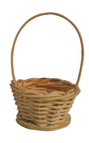 10 mini cesta lembrancinha palha bambu ref.202 04x07