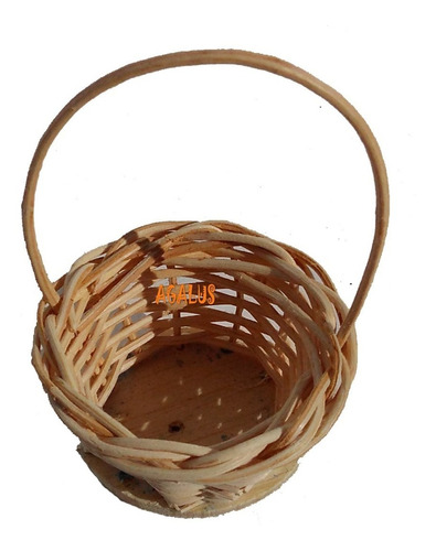 10 mini cestinha lembrancinha palha bambu ref.202 04x07