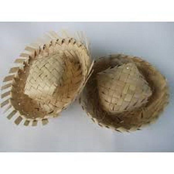 10 Mini Chapéu De Palha Lembrancinha Junina Festas Doce - R  14 9c76e34124c