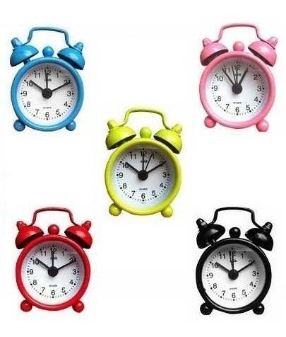 10 mini despertador retro coleção mini relógio lembrança