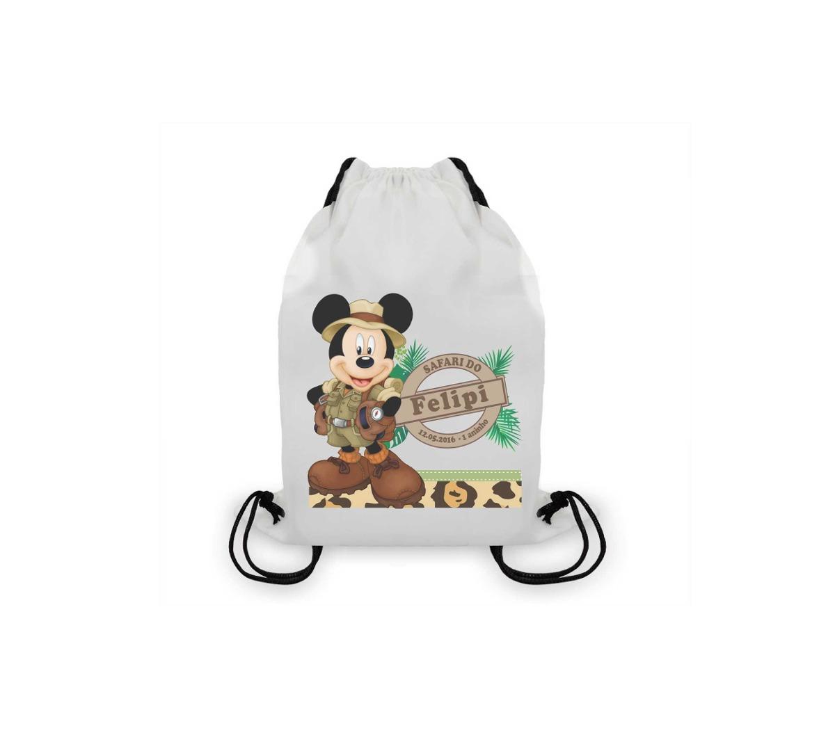 Leve-os juntos com frete grátis. + + +. 20 Canecas Tema Mickey Safari  Personalizadas Lembrancinhas ...