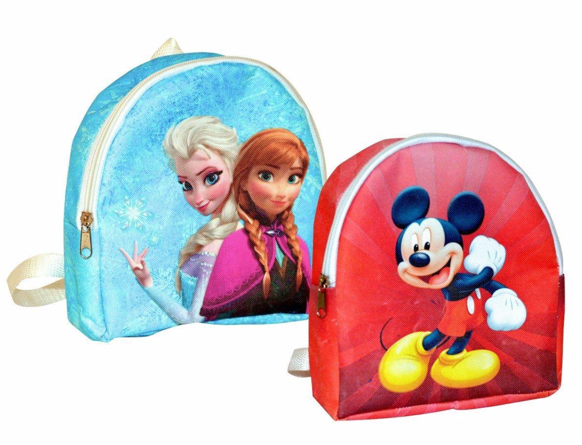 mochiltas con nombre recuerdo para fiestas infantiles