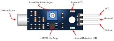 #10- módulo detector de som palmas arduino pic raspberry avr