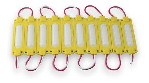 10 módulos plasma tipo chip con 6 led 5730 / varios colores