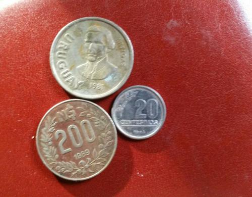 10 monedas antiguas uruguayas