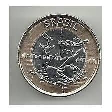 10 monedas olimpíadas   natacion paraolimpica   brasil 2016