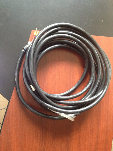 10 mts  de cable 2 fases energia 300/500 voltios