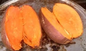 10 mudas de batata doce polpa laranja(beauregard)