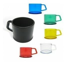 10 mugs pocillo 10oz pocillo plástico, imitación