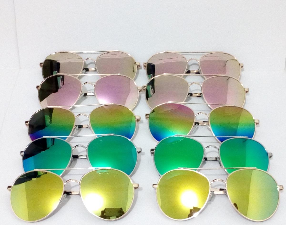 59bd0d3e371f5 10 óculos de sol aviador redondo feminino espelhado. Carregando zoom.