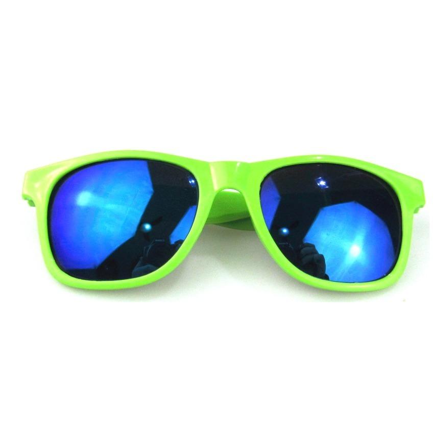 10 óculos escuro luxo verde lente adereço balada festa neon. Carregando  zoom. e30b8bdcae