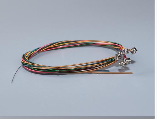10 pack cuerdas para guitarra electrica de colores  orphee