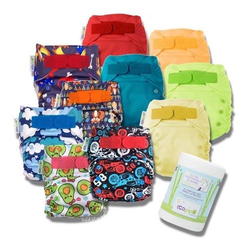 10 pack ecopipo 5 lisos + 5 estam + filtro + 2 bolsas -8%