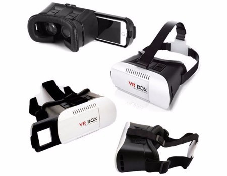 10 pack lentes 360º realidad virtual vr box 3d 2.0