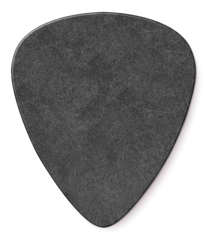 10 palhetas dunlop tortex  pitch black standard 1.14 mm