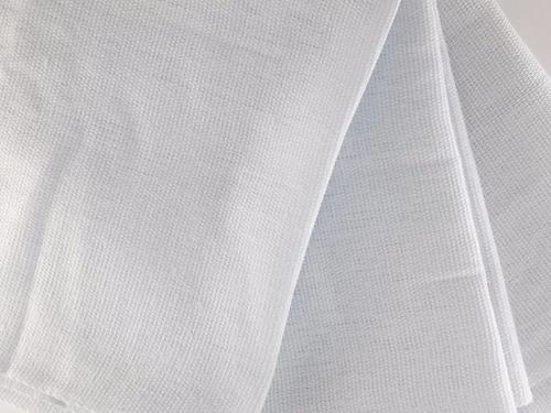 10 panos de prato copa branco liso bainha 65 x 45 cm atacado