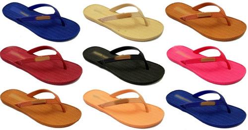 10 pares chinelo sandália braided summer salinas atacado k78