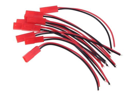 10 pares de conector jst 10machos+10fêmeas plug bateria esc