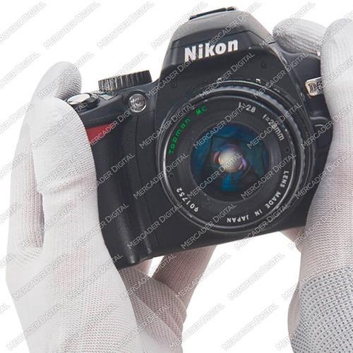 10 pares de guantes antiestáticos de nylon / mayoreo + envío