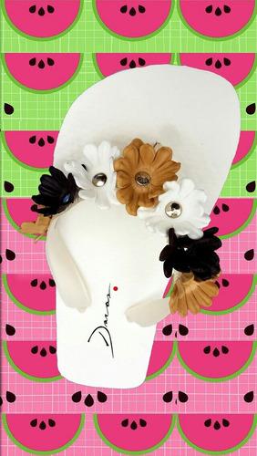 10 pares de ojotas por mayor con flores aplicadas surtidas
