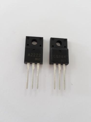 10 pares transistor c6144 a2222epson l355 l210 l365 original