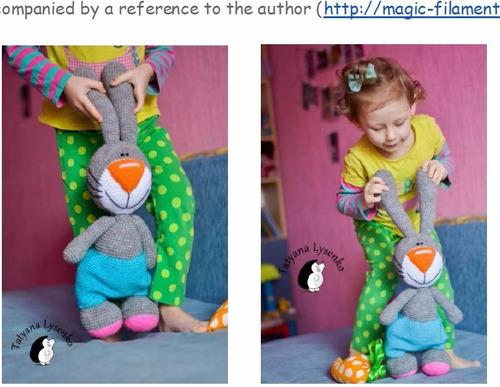 10 patrones amigurumi a elección + regalo ! crochet esp/ing