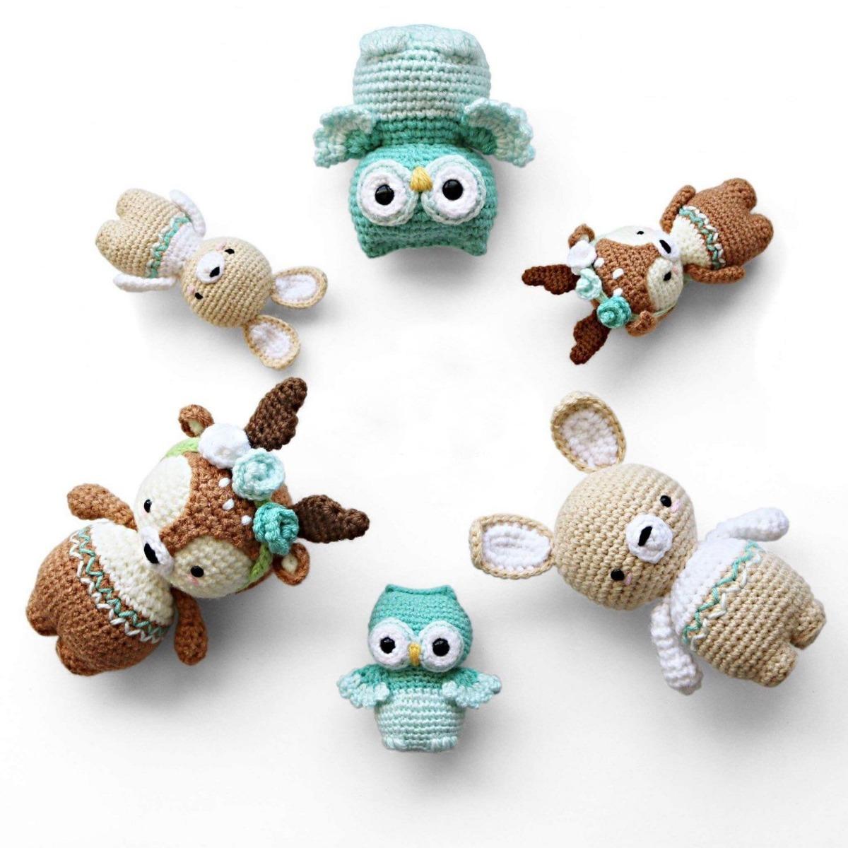 10 Patrones Crochet Amigurumi A Elección! Especial Navidad! - $ 150 ...