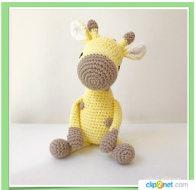 DIY Jirafa Parte 1 amigurumi crochet/ganchillo (tutorial) - YouTube | 277x284
