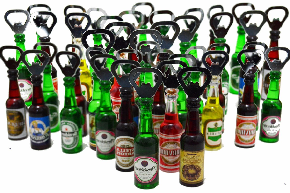 c54eb8f2a 10 pçs abridor de garrafa personalizado formato cerveja imã. Carregando  zoom.