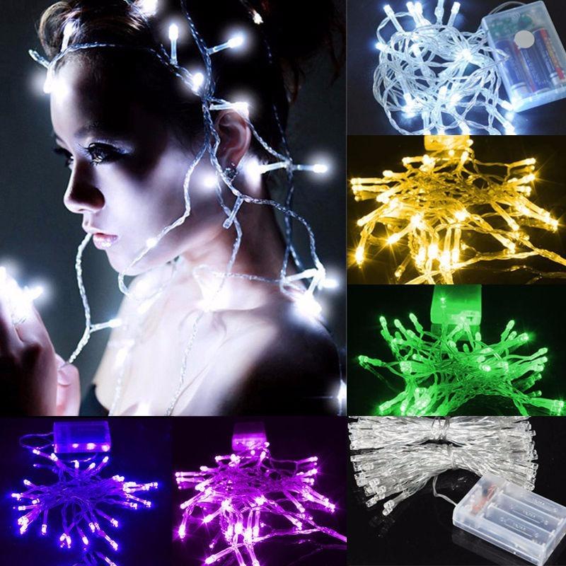 e2f172bb4ef 10 pcs cadena de luces 10 led para centros de mesa pilas. Cargando zoom.