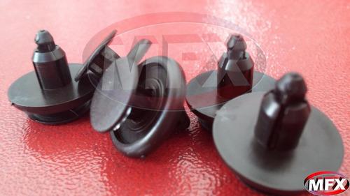 (10 peças) presilhas do paralama parabarro toyota corolla.