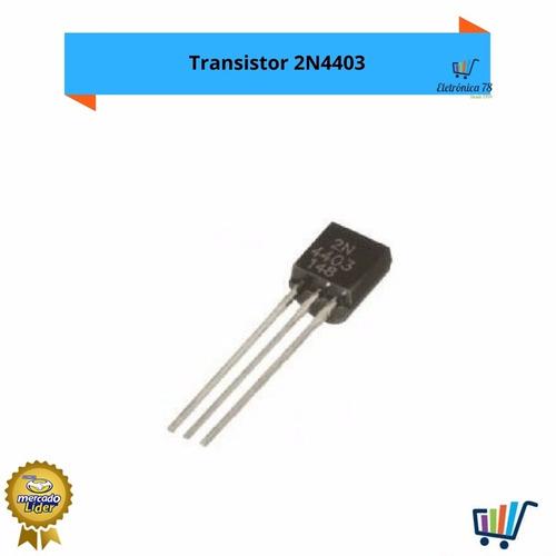 10 peças transistor 2n4403