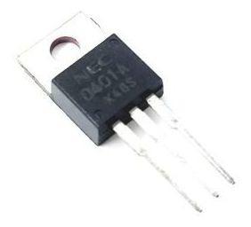 10 peças transistor nec 2sd401a d401a original