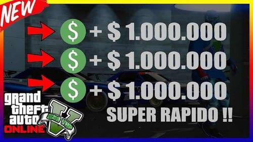 10 pesos el millón en gta v online ps4