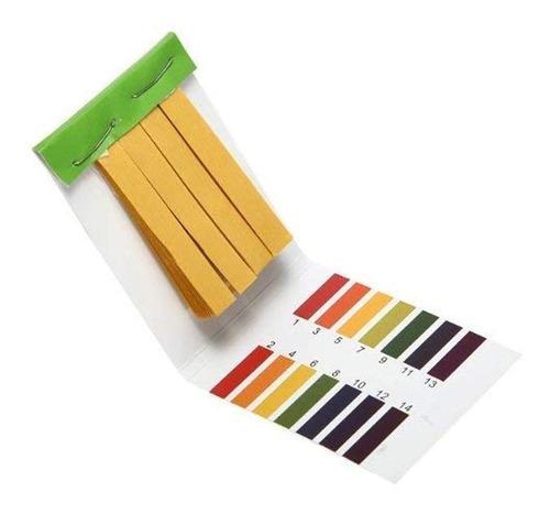 (10 piezas) 80 tiras medición ph laboratorio alcalino ácido
