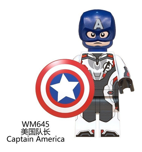 10 piezas avengers endgame building blocks juguetes niños