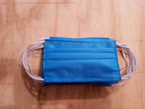 10 piezas de cubrebocas  protec 3 capas plizado elastico 4mm