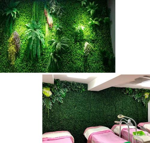 10 piezas follaje artificial 40x60cm verde decoración jardìn